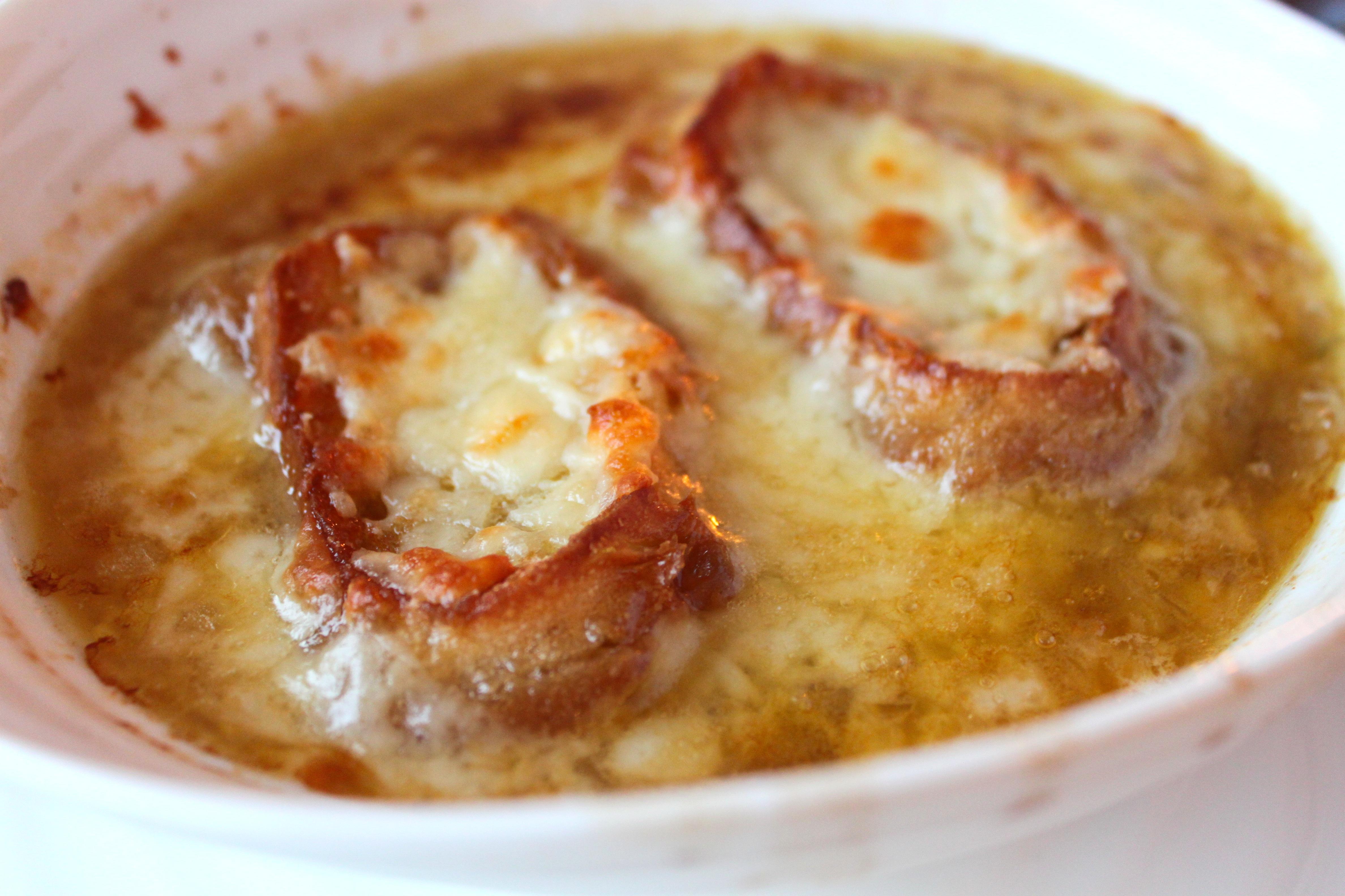Луковый суп с вином рецепт