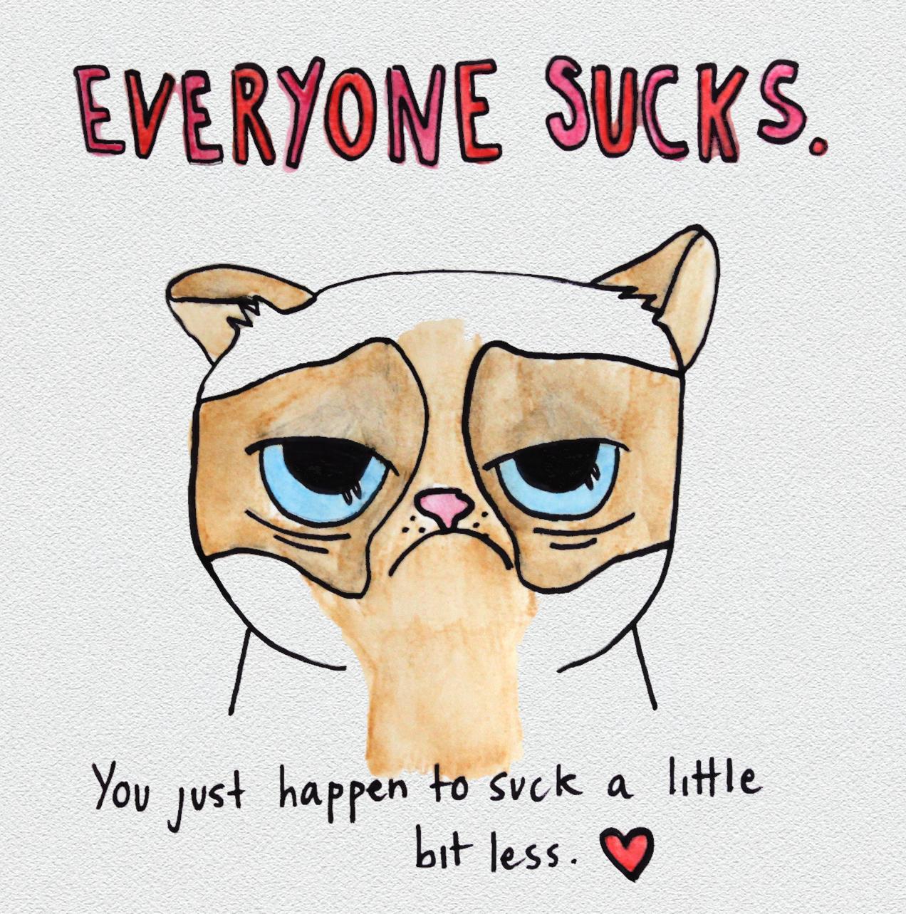card2 - Grumpy Cat Valentine